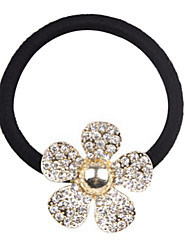 Rhinestone Flower Hair Band