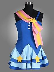 inspirada nos trajes cosplay ídolo mestre haruka Amami