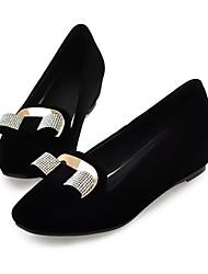 Женские плоский каблук Комфорт Квартиры обувь (больше цветов)