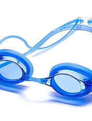 Swimming Goggles Unisex Anti-Fog / Anti-Wear / Waterproof / Adjustable Size / Anti-UV / Shatter-proof / Anti-slip Strap Silica Gel PC / UV