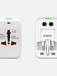 Universal AC Power Plug for US/EU/UK/AUTravel Power Adapter Converter