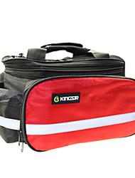 kingsir 13l 600d nylon bag tronco rosso mountain bike