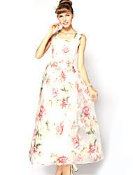 Bohemia Ruffle vestido de las mujeres S-RAY