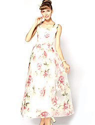 S-Ray Женская Богемия рюшами Платье