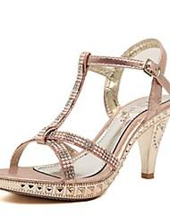Synthetic Women's  Stiletto Heels T-Strap Sandals Shoes(More Colors)