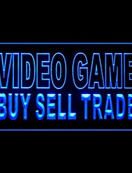 Video Game Buy Sell Advertising LED Light Sign