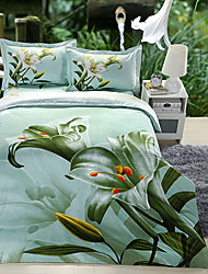 Ailianna 4 Piece 3D Canvas Print Duvet Set 13015