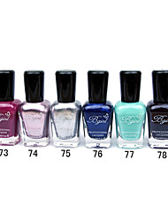 French Imports Makings Pro-environment Nail Polish NO.73-78(16ml,Assorted Color)