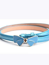 Women's Fashion and Simple Leather Waist Belt