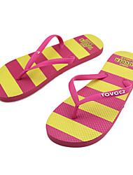 Quiksilver Women's Outdoor Sports Stripes Beach Flip Flops 14001