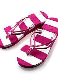 Quiksilver Women's Rosy Stripes Beach Flip Flops O449