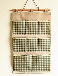 Cotton And Linen Grocery Bag  Household Receive Bag