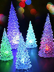 LED Table Lamp,1 Light,Artistic Tree Shape Color Changing Plastic-4.5V