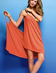KUQI Women's Sexy Halter Beach Dress