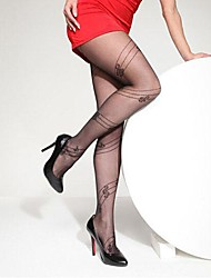 Ultra-thin Wire Core-spun Yarn Elasticity Notes Tights Soft Sexy Nylon Pantyhose Hosiery