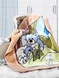Consolador shuian® padrão macio caricatura ficar quentes crianças espessamento Raschel