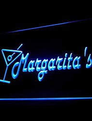 Margaritas Shake Lime Advertising LED Light Sign