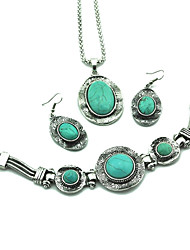 Jewelry-Necklaces / Earrings / Rings / Bracelets & Bangles(Alloy)Party / Daily Wedding Gifts