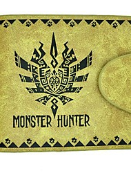 PSP Game Monster Hunter Zinogre Leather Wallet Cosplay Accessory