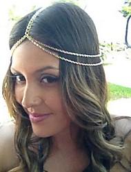 Women Alloy Head Chain , Casual
