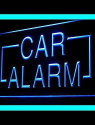Car Alarm System Advertising LED Light Sign