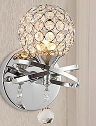simples modernas luzes de parede de cristal 3w
