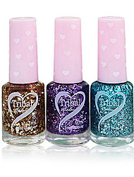 Fragrance Oily Nail Polish with Love Design Bottle NO.78-80(7ml,Assorted Color)
