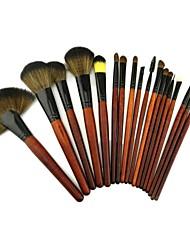 18 Pcs Black Brush Pack High Quality Professional Brush Set