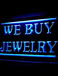 мы покупаем ювелирные изделия рекламную LED Light знак