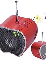 Apple Design Mini-Audio-Lautsprecher FM Radio für MP3, PC