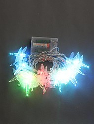 20-LED 2.5M Battery Powered Dragonfly Color Changing String Fairy Lights voor Kerstmis Feest Bruiloft