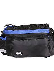 jakroo panno impermeabile blu indossabile mountain bike borsa baule impermeabile con striscia riflettente