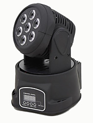 luces etapa Reallink ® de color RGBW mezcla dmx512 7 llevó la lámpara en movimiento