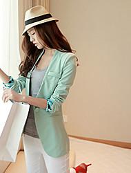 ruilifang élégant ol causalité de style coréen équipé plus la taille costume bleu veste