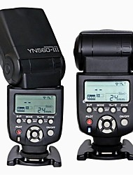 YONGNUO YN-560iii ultra-largo alcance de flash Speedlite inalámbrico para nikon canon cámara réflex digital pentax