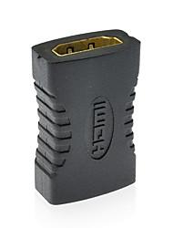 v1.4 HDMI f a f conector do adaptador de cabo HDMI