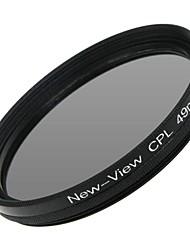 Новый взгляд поляризатор фильтр для камеры (49мм)