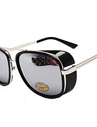 Прохладный Мужская Все-Матч отражают свет солнцезащитные очки (черный)