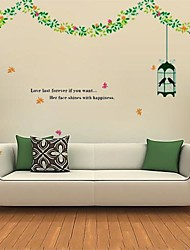 Createforlife ® Amour Last Forever si vous voulez un prix Chambre de mur d'autocollant Art Stickers