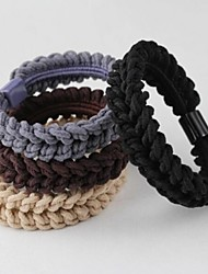 Solid Twist High Elastic Hair Ties