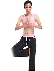Dancewear Women's Chinlon And Spandex Yoga Dance Outfit