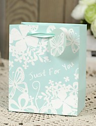 Flower Design Spring Card Paper Favor Welcome Bag-Set of 6