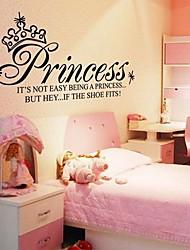 Doudouwo ® слов и котировки Принцесса Слова стены стикеры