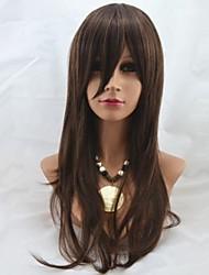 26inch capless longue synthétique de haute qualité perruque de cheveux Straight souple Mix 2/30