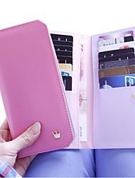 Frauen-Sommer-neue Retro Design Shopper Geldbörsen Karten-ID Halter für Handtasche