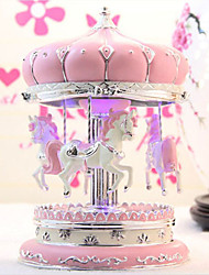 Delicate Carouse Design Perfecrt Details Music Box