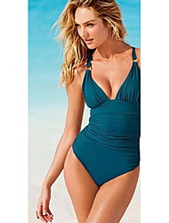 KUQI Women's Sexy Halter One-Piece