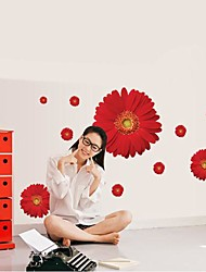 Doudouwo® Florals The Beautiful Daisy Wall Stickers