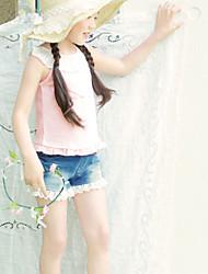 Meisje mode Bow Lace Broek