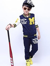 Boy's Fashion T-Shirts+Pants Sets Lovely   Two Pieces  Sets Clothing Set